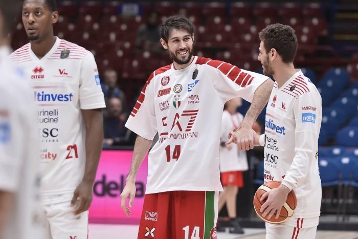 Lega basket - Milano vince con Pesaro e si laurea campione d'inverno (88-84)