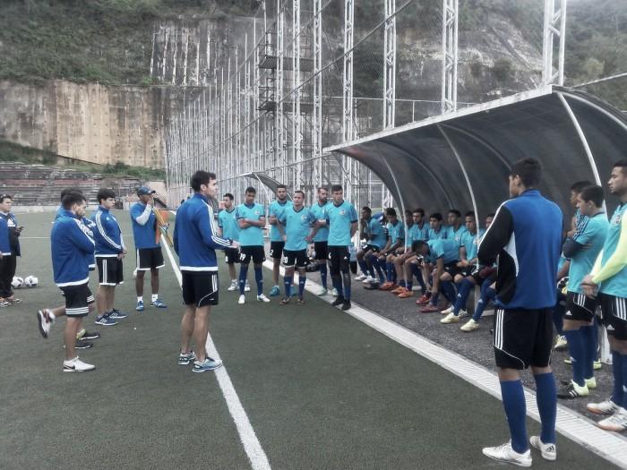 Atlético Venezuela midió fuerzas ante el Caracas FC B