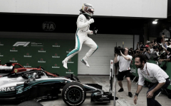 Hamilton capturó un triunfo impensado