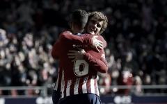 Com gol de Griezmann, Atlético de Madrid derrota Levante e segue na cola do líder Barcelona