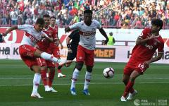 Résultats Journée 2 Russian Premier League 18-19