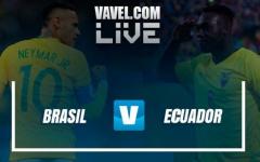 Brasil confirma su liderazgo y complica a un Ecuador que se le terminan las posibilidades (2-0)