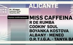 El Spring Festival de Alicante confirma a Miss Caffeina para su nueva edición del 24 y 25 de mayo