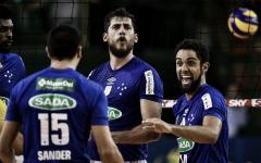 Sada Cruzeiro bate Itapetininga e vai às semis da Copa Brasil