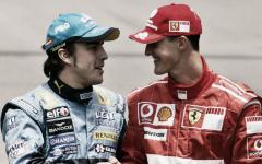"Alonso: ""Mi mayor rival ha sido Schumacher"""
