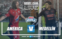 Resumen América de Cali vs Medellín por Liga Águila 2019-I (3-0)