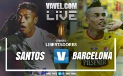 Santos vs Barcelona SC EN VIVO ahora por Copa Libertadores 2017 (0-0)