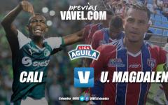 Previa Deportivo Cali vs Unión Magdalena: 'azucareros' esperan consolidarse en casa