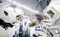 Dupla Prescott-Elliot brilha e Dallas Cowboys derrota Seattle Seahawks nos playoffs da NFL