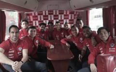 Selección Chilena ya se encuentra en Lima