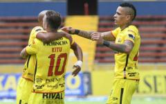 Barcelona SC salió victorioso del Olímpico Atahualpa ante Clan Juvenil