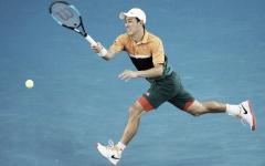 Remontada al límite de Nishikori para meterse en cuartos de final