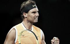 """Rafael Nadal: """"Estar en semifinales del Open de Australia es maravillos tras haber superado la lesión"""""""