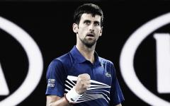 Djokovic sujeta el empuje de Tsonga