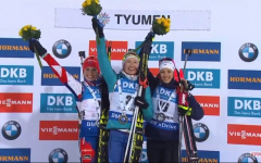 Domracheva s'impose, Makarainen remporte le globe de cristal