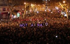 D'importantes mobilisisations en soutien à Charlie Hebdo