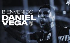 Daniel Vega jugará en San Jose Earthquakes