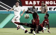 Pleno de partidos de Odriozola en Copa