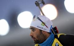 Martin Fourcade remporte la poursuite de Tyumen
