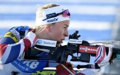 Tiril Eckhoff remporte le sprint d'Antholz-Anterselva
