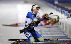 Darya Domracheva remporte le sprint de Tyumen