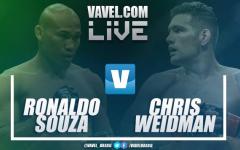 Luta Ronaldo 'Jacaré' Souza vs Chris Weidman na UFC 230