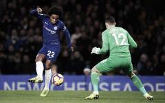 Willian faz lindo gol e Chelsea vence Newcastle na Premier League