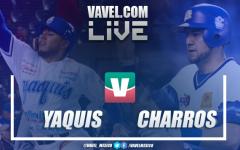 Resultado y carreras del Yaquis de Obregón 4-6 Charros de Jalisco en Juego 2 Final LMP 2019