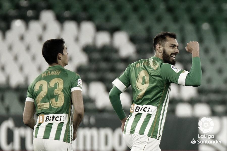 """Borja Iglesias: """"El equipo cree, confía y lo ha vuelto a hacer"""""""