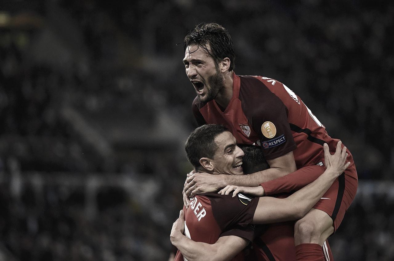 Com gol de Ben Yedder,Sevilla derrota Lazio fora de casa na UEFA Europa League