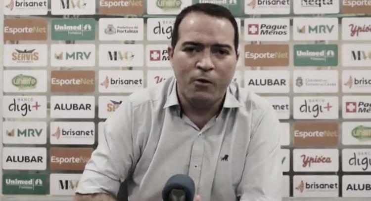 Presidente do Fortaleza, Marcelo Paz critica atuação da arbitragem na derrota pelo Fluminense