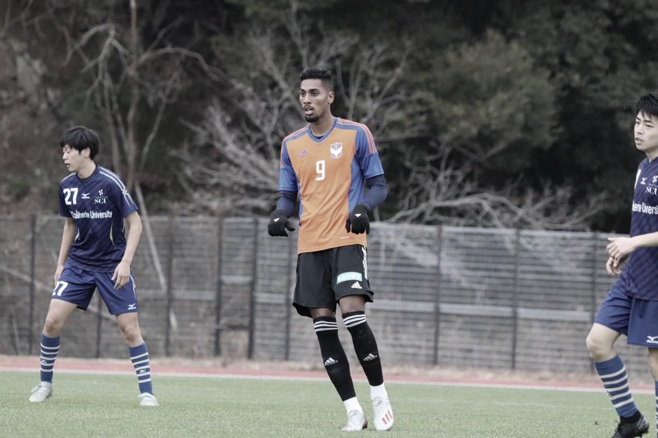 Vice-artilheiro da Serie B em 2019, atacante Fábio chega bem ao Japão