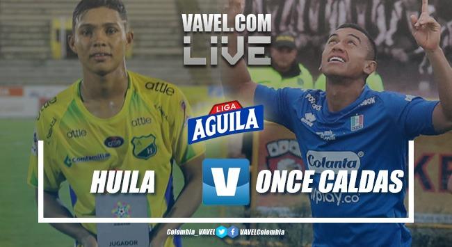 Resumen Atlético Huila vs Once Caldas por la Liga Águila 2019-I (1-0)
