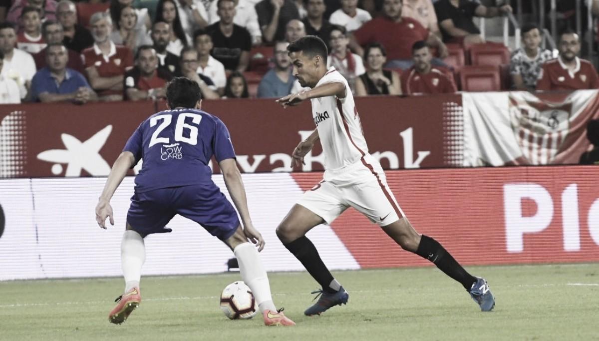 """Após goleada do Sevilla, Jesús Navas pondera: """"Devemos ir lá com a mesma atitude e seriedade"""""""