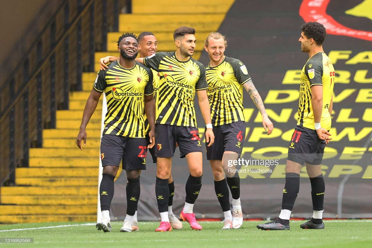 Watford 2-0 Swansea City: Success for Hornets who finish season in style