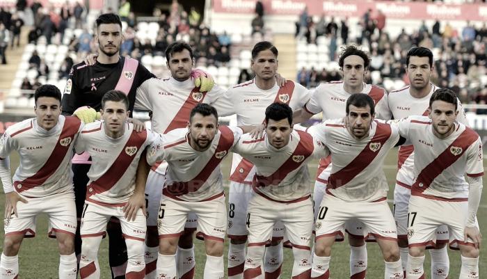 Rayo Vallecano - Elche: puntuaciones del Rayo, jornada 22 de la Segunda División