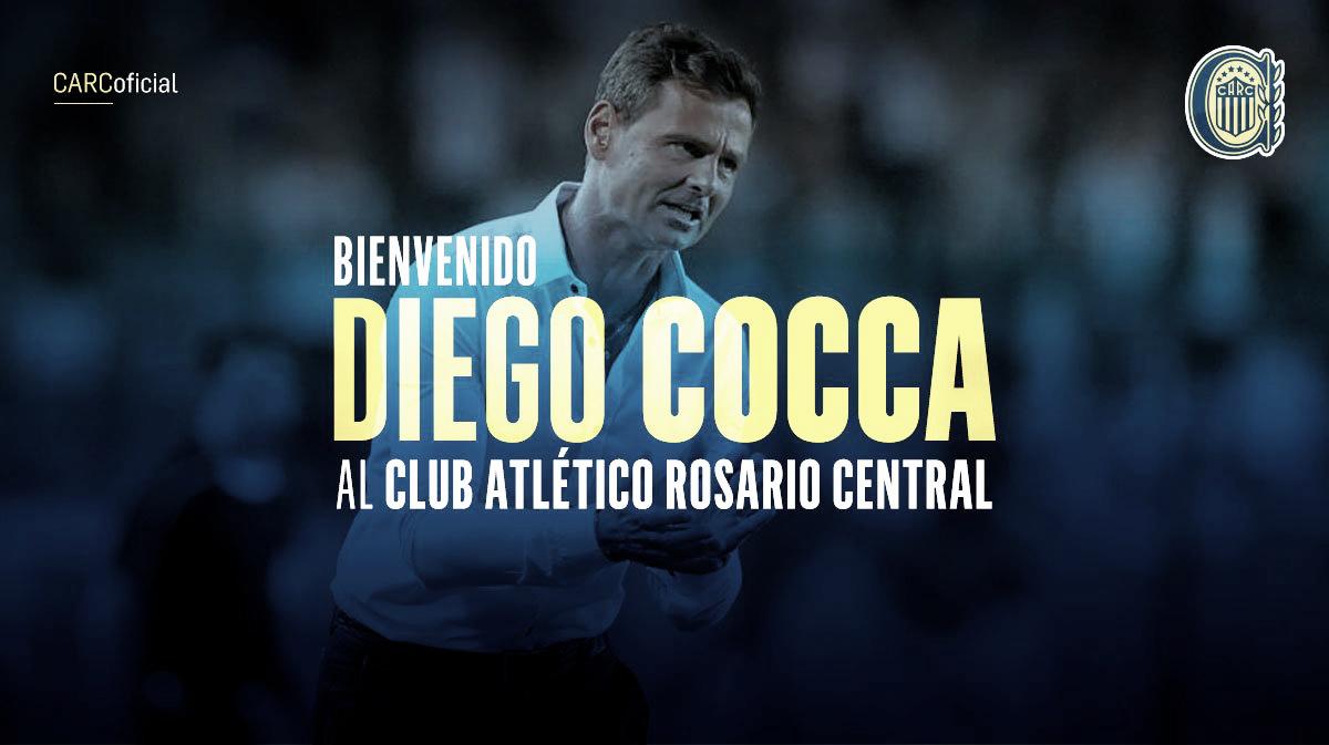 Asume Diego Cocca como nuevo director técnico de Central