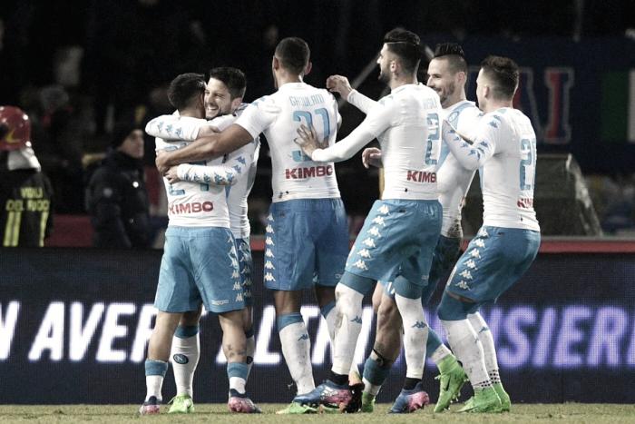 Serie A - Delirio e gol al Dall'Ara, Napoli sontuoso a Bologna (1-7)