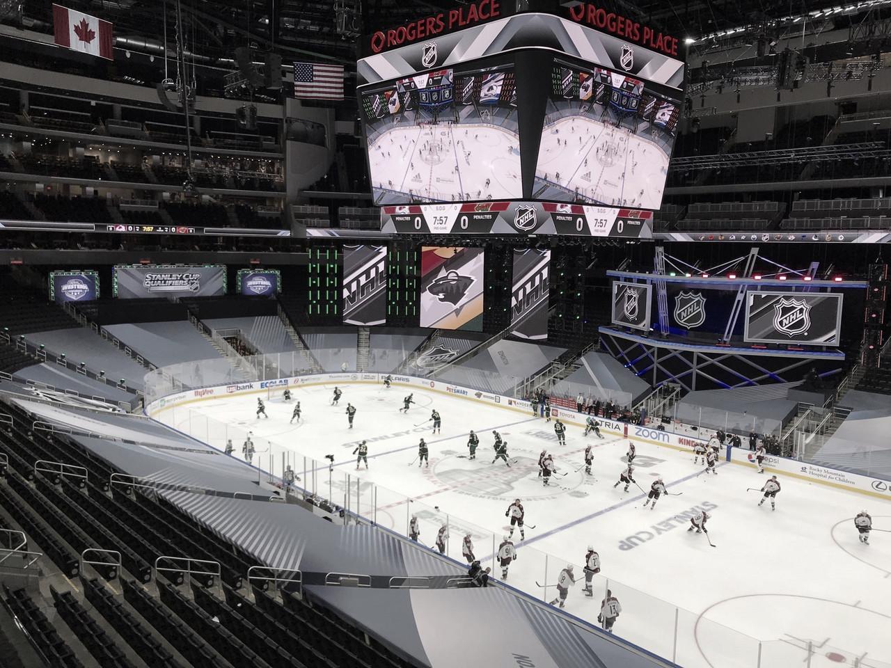 El espectáculo de la NHL
