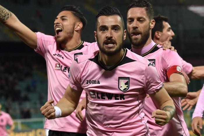Il Palermo vince 1-0 lo scontro salvezza col Crotone