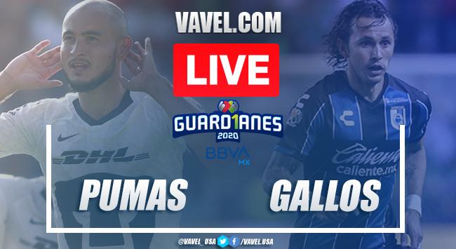 Goals and Highlights: Pumas 3-2 Querétaro, 2020 Liga MX