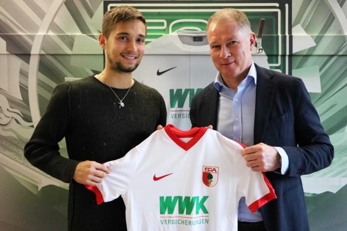 Moritz Leitner makes return to Augsburg