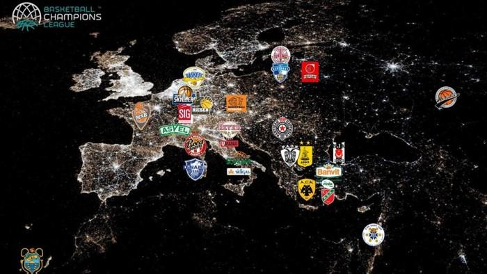 Basketball Champions League - Sorteggio non clemente per le italiane