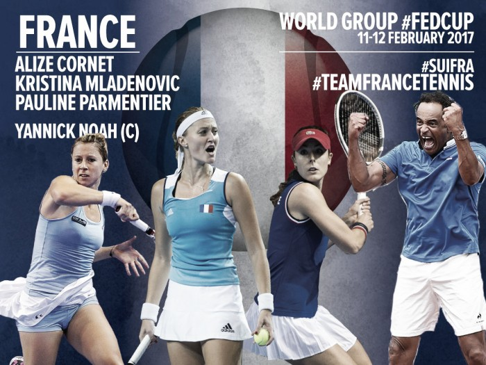 Fed Cup: France confident with three women team