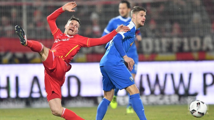 1. FC Union Berlin 2-1 VfL Bochum: Hosts come from behind to start 2017 with victory