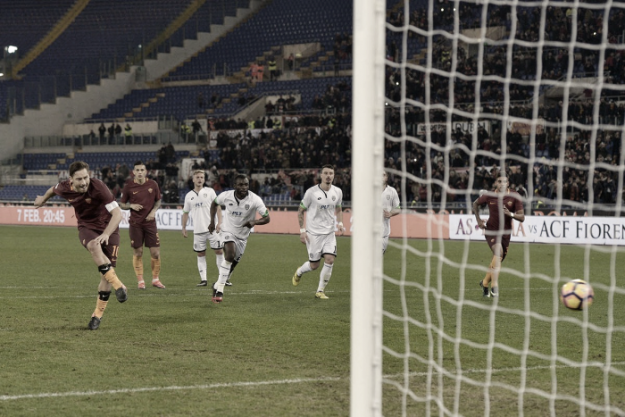 Roma, col Cesena avanti grazie a Totti, all'ultimo respiro. Le voci di fine gara