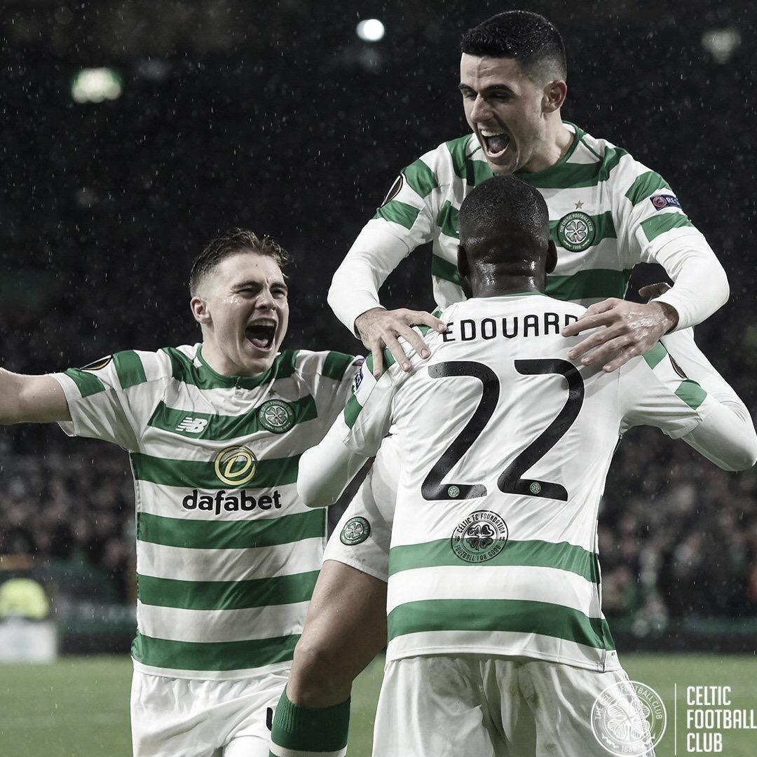 Celtic vence RB Leipzig e embola Grupo B da Europa League