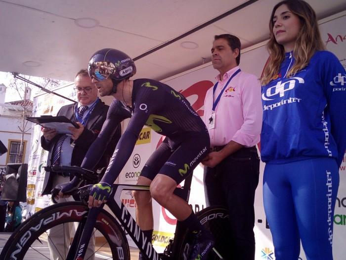 Vuelta a Andalucía 2017, 3° tappa: Campenaerts vince la crono, Valverde torna in vetta