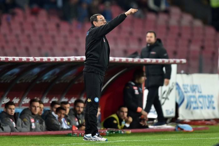 """Zielinski e Giaccherini liquidano il Genoa, Sarri: """"Abbiamo concesso poco: prestazione matura"""""""