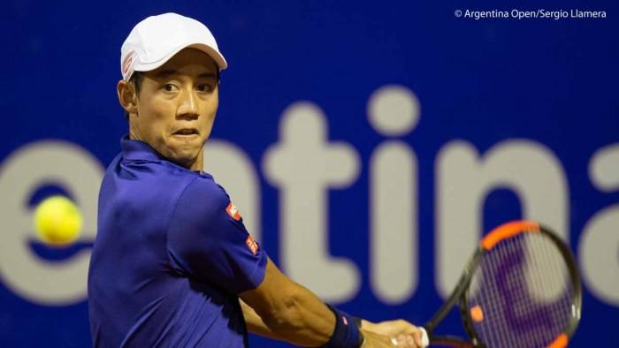 ATP Buenos Aires - Nishikori si impone in tre, fuori Giannessi e Lorenzi